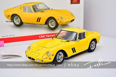 CMC 1:18 1962 Ferrari 250 GTO M-151 yellow
