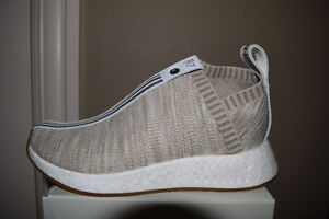 Kith C2 NMD Naked Adidas - Sand - Size 6 - DS