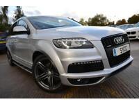 2012 Audi Q7 3.0 TDI 245 Quattro S Line Plus 5dr Tip Auto 5 door Estate