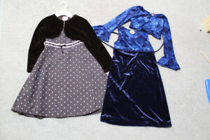 2 Girl, size 6/7 fancy/occasion/church/casual dresses