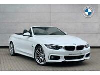 2019 BMW 4 Series 435d xDrive M Sport Convertible Convertible Diesel Automatic