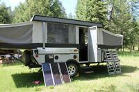 REDUCED!  E3 Evolution Toy Hauler Tent Trailer by Fleetwood