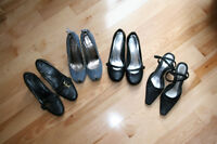 size 7 - 6 pairs of dress shoes