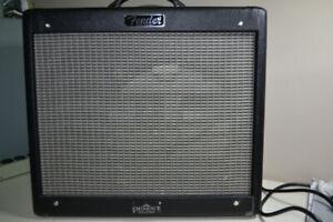 Fender Blues Junior with BillM mods and Texas Heat speaker