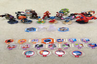 Disney infinity 2.0 game+base, charcters, power discs, playsets
