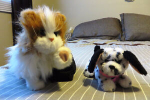 Moving/talking puppy and kitten