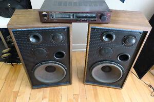 _Vinyl Phono Amp and 116 Watt Speaker Combo_