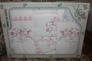 Queen Embroidered Sheets