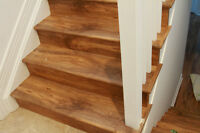 Professional and reliable hardwood & laminate installers.