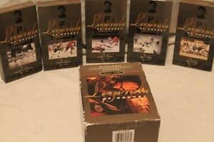 VHS Legends of Hockey Collectables.