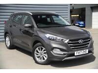 2017 Hyundai Tucson 1.7 CRDI Blue Drive SE NAV 2WD Diesel grey Semi Auto