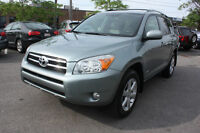 2008 Toyota RAV4 LIMITED WITH SUNROOF SUV, Crossover
