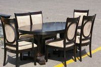 Modern Table & 6 chairs, delivery available