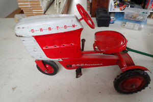 Pedal Tractor with Dump Trac Trailer