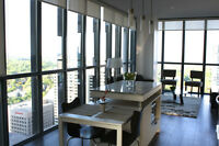YORKVILLE TORONTO CONDO FOR RENT 2 bed 2 bath Fully FURNISHED