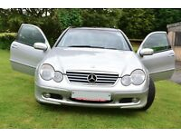 Mercedes C200 1.8 Kompressor Manual - Silver