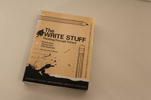 The Write Stuff Thinking Through Essays The little, Brown Compac