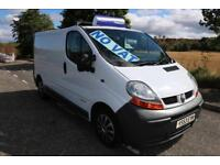 Renault Trafic SWB 80 Thousand Miles Ply Lined Ideal Day Van Excellent Runner *n