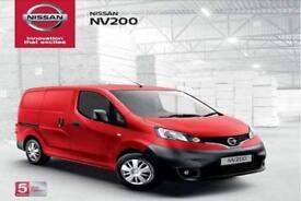 dff8554e34 New 18 Reg Nissan NV200 Acenta 5 Seat Crew Van  Zero Depsoit Finance  Available