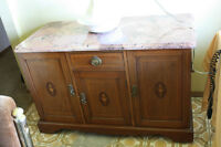 ANTIQUE WASHSTAND/SIDEBOARD