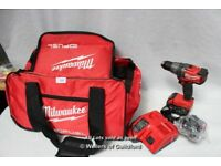 Milwaukee M18 FPD Fuel Drill + 2x 4.0 Ah Batteries + Charger+bag