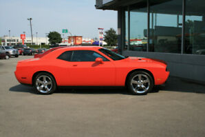 Hemi Orange Dodge Challenger R/T 2009