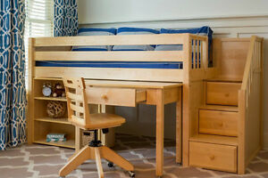 Get  ready for back to school! Design your own study loft.