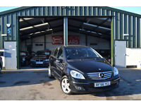 2007 Mercedes-Benz B170 1.7 PETROL AUTOMATIC BLACK