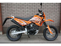 SINNIS APACHE 125 SUPER MOTO NT MX RS SR