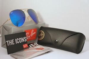 Ray Ban Aviator - Blue Mirror