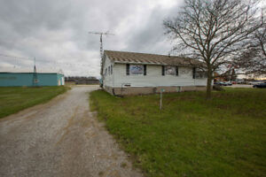 1.8 acre country property just outside Petrolia