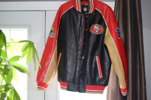 All N.F.L. fans premium leather jacket