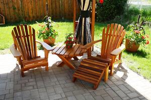Adirondack meubles terrasse jardin dans grand montr al petites annonces class es de kijiji for Meuble terrasse montreal