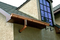 - Eavestrough & Downspout, Leaf Guard & Soffit Installations -