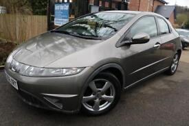 2006 (56 Plate) Honda Civic 1.8 I-VTEC SE Grey 5 Door Long MOT Finance Available