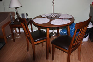 Moving Sale - Dining Room Table and 2 chairs