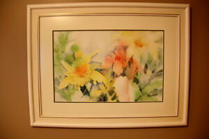 Original Framed Watercolour