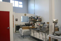 Commercial Kitchen Rental - Shared space