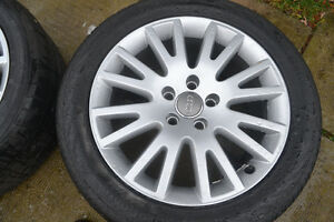 Audi OEM Mags and Tires