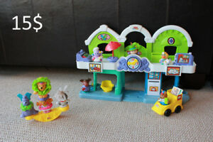 """Ville"" Little People de Fisher Price + bonus ""cirque"""