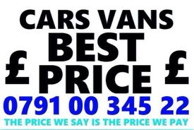 🇬🇧 Ø791ØØ34522 WANTED CAR VAN BIKE 4x4 FOR CASH BUY MY SELL YOUR SCRAP COLLECT IN 1 HOUR A5