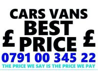 🇬🇧 Ø791ØØ34522 WANTED CAR VAN BIKE 4x4 FOR CASH BUY MY SELL YOUR SCRAP COLLECT IN 1 HOUR AQD
