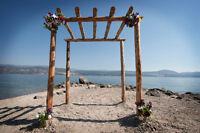 Wedding arch way