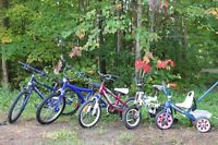 Assorted Kids Bikes-$10.00 Each