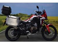 Honda CRF Africa Twin 2016 ** PANNIERS, TOP BOX, ENGINE BARS, ONE OWNER **