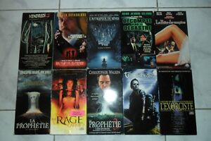 FILMS D HORREUR VHS VERSION FRANCAISE (1V)