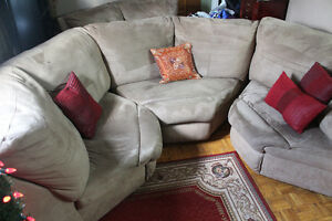 4 piece sectional sofa *REDUCED for quick sale*