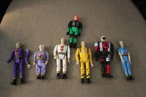 VINTAGE CRASH TEST DUMMIES TOY LOT 1991 Belleville Belleville Area image 4
