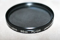 Hoya 55mm polarizing lens filter model PL-C/R