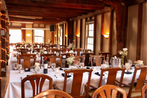 Historic & Rustic Wedding Reception Venue - Lower Deck Tap Room